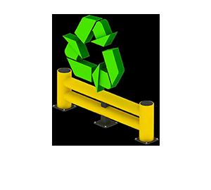 Les avantages des barrières amortissantes - Recyclable et faible empreinte écologique - Barriere-amortissante.fr