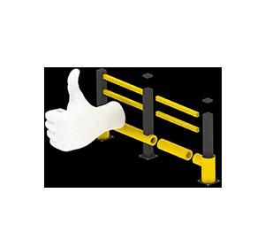 Les avantages des barrières amortissantes - Une installation facile et modulaire - Barriere-amortissante.fr