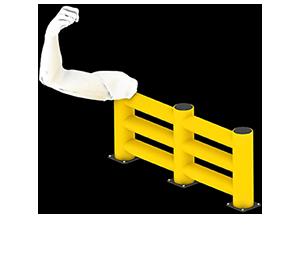 Les avantages des barrières amortissantes - Une résistance équivalente au métal - Barriere-amortissante.fr